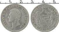 Изображение Монеты Саксония 1/3 талера 1858 Серебро XF F   Иоганн V