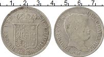 Изображение Монеты Сицилия 120 гран 1836 Серебро VF+ Фердинанд II