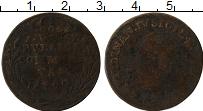 Изображение Монеты Неаполь 3 торнеси 1790 Медь VF Фердинанд IV