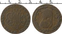 Изображение Монеты Великобритания 1/2 пенни 1788 Медь VF