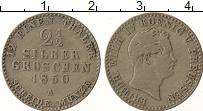 Изображение Монеты Пруссия 2 1/2 гроша 1850 Серебро VF Фридрих Вильгельм IV