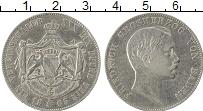 Продать Монеты Баден 1 талер 1865 Серебро