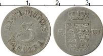 Изображение Монеты Саксен-Майнинген 3 крейцера 1830 Серебро VF