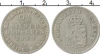 Продать Монеты Анхальт 2 1/2 гроша 1864 Серебро