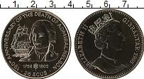 Изображение Монеты Гибралтар 2,8 экю 1995 Медно-никель UNC 190 лет со дня смерт