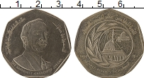 Изображение Монеты Иордания 1/2 динара 1980 Медно-никель XF