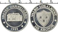 Изображение Монеты Швеция 150 крон 1982 Серебро UNC- Городские деньги