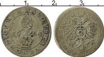 Изображение Монеты Аугсбург 1/2 крейцера 1625 Серебро VF