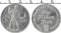 Изображение Монеты Германия : Нотгельды 1000000 марок 1923 Алюминий UNC- Фрайберг