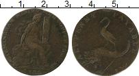 Изображение Монеты Великобритания 1/2 пенни 1794 Медь VF