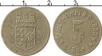 Изображение Монеты Германия : Нотгельды 5 пфеннигов 1920 Железо XF Олигс