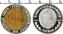 Изображение Монеты Азия Северная Корея 700 вон 2006 Серебро Proof-