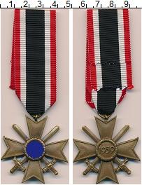 Изображение Значки, ордена, медали Третий Рейх Медаль 1939 Латунь UNC-