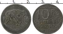Изображение Монеты Германия : Нотгельды 10 пфеннигов 1918 Железо XF- Вормс