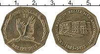 Продать Монеты Белиз 1 доллар 2012 Медно-никель