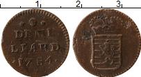 Изображение Монеты Люксембург 1/2 лиарда 1784 Медь VF