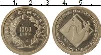 Изображение Монеты Турция 1000 лир 1986 Медно-никель Proof- Международный год ми
