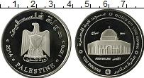 Продать Монеты Палестина 10 динар 2014 Медно-никель