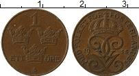 Изображение Монеты Швеция 1 эре 1915 Бронза XF Густав V