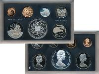 Изображение Подарочные монеты Новая Зеландия Набор 1974 года 1974  Proof В набор входят шесть