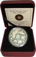 Изображение Подарочные монеты Канада 15 долларов 2011 Серебро Proof