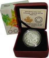 Изображение Подарочные монеты Канада 10 долларов 2014 Серебро Proof