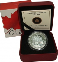 Изображение Подарочные монеты Канада 10 долларов 2013 Серебро Proof `Серия ``О,Канада!``