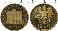 Изображение Монеты Австрия Жетон 1980 Латунь Proof-