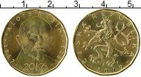 Изображение Монеты Чехия 20 крон 2019 Латунь UNC-