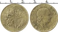 Изображение Монеты Италия 200 лир 1993 Латунь XF