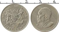 Изображение Монеты Кения 50 центов 1966 Медно-никель XF