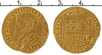 Изображение Монеты Нидерланды Голландия 1/2 реала 1560 Золото VF+