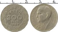 Изображение Монеты Бразилия 300 рейс 1938 Медно-никель XF- Джетулио Варгаш