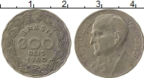 Изображение Монеты Бразилия 300 рейс 1940 Медно-никель XF-