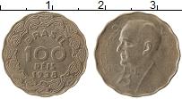 Изображение Монеты Бразилия 100 рейс 1938 Медно-никель XF Джетулио Варгаш