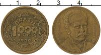 Изображение Монеты Бразилия 1000 рейс 1939 Латунь XF-