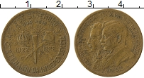 Изображение Монеты Бразилия 500 рейс 1922 Латунь XF-