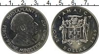 Изображение Монеты Ямайка 1 доллар 1969 Медно-никель UNC