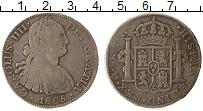 Изображение Монеты Мексика 8 реалов 1805 Серебро VF+