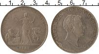 Изображение Монеты Вюртемберг 1 талер 1833 Серебро XF