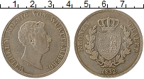 Изображение Монеты Вюртемберг 1 талер 1832 Серебро XF
