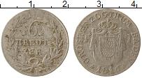 Изображение Монеты Баден 6 крейцеров 1816 Серебро VF