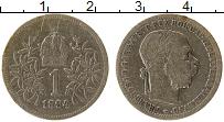 Изображение Монеты Австрия 1 крона 1894 Серебро VF Франс Иосиф I