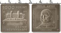 Изображение Монеты Венгрия 1000 форинтов 2011 Медно-никель UNC