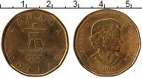 Изображение Монеты Канада 1 доллар 2010 Латунь UNC- Олимпийские игры в В