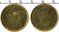Изображение Мелочь Канада 1 доллар 2012 Латунь UNC-