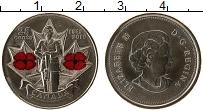 Изображение Монеты Канада 25 центов 2010 Медно-никель UNC-