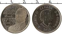 Изображение Монеты Канада 25 центов 2012 Медно-никель UNC- Елизавета II. Война