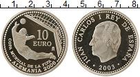 Изображение Монеты Испания 10 евро 2003 Серебро Proof- Чемпионат Мира по фу