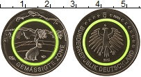 Изображение Мелочь Германия 5 евро 2019 Медно-никель UNC Умеренная зона, вста